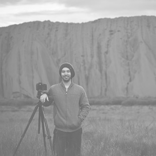 Beau Mitchell at the Uluru, Northern Territory, Australia