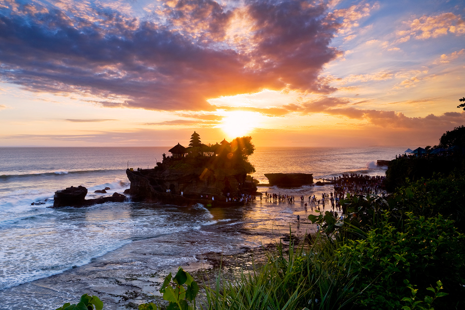 Tanah Lot Temple - Land In The Sea
