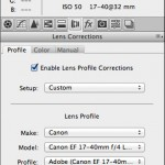 adobe camera raw lens correction