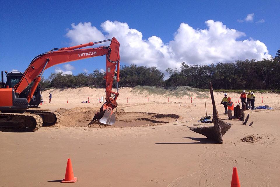 SS Dicky Beach Removal