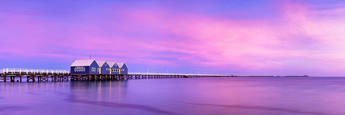 Busselton Jetty - Busselton, Western Australia