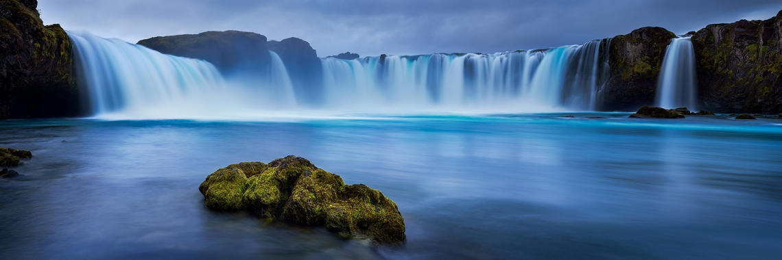 Waterfall of the Gods - Iceland