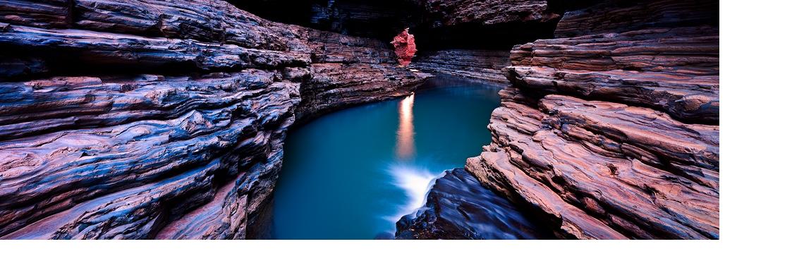 Kermit's Pool - Karijini National Park, Western Australia