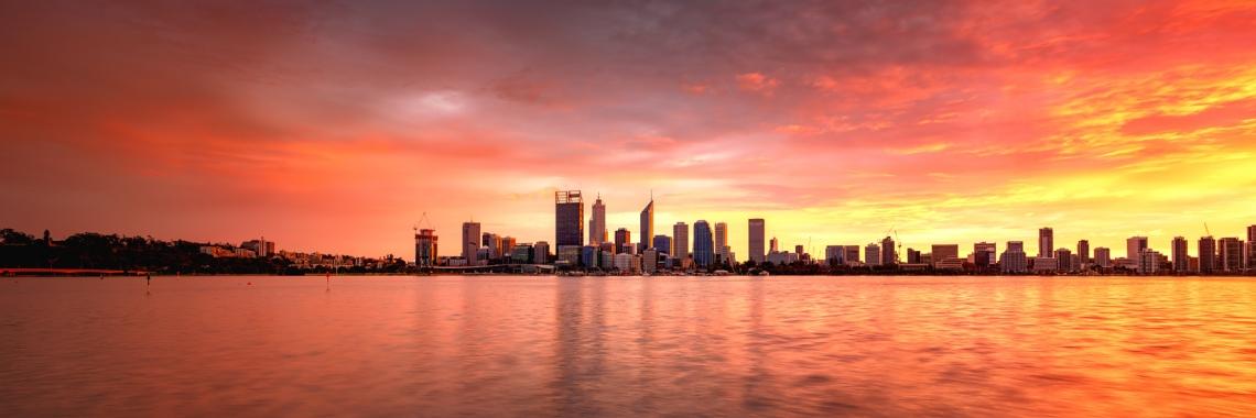 Perth Sunrise - Perth, Western Australia