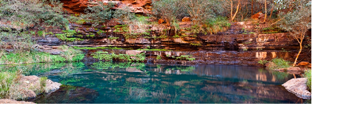 Emerald Beauty - Karijini National Park, Western Australia