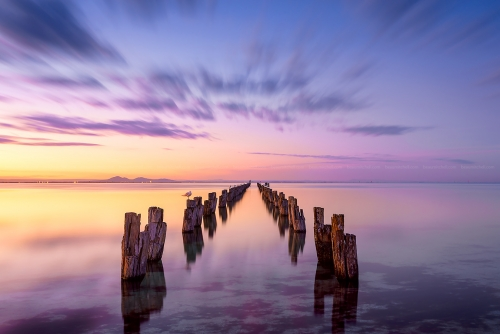 Peaceful Pylons - Australian Landscape Photography