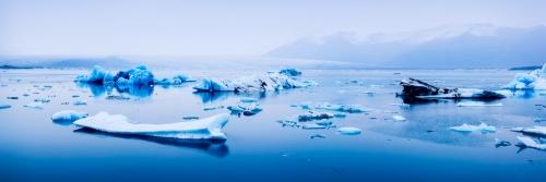 Glacial Lagoon - Australian Landscape Photography